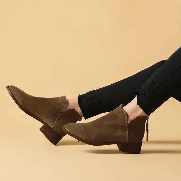 Kacey Devlin 鹿皮切尔西短靴