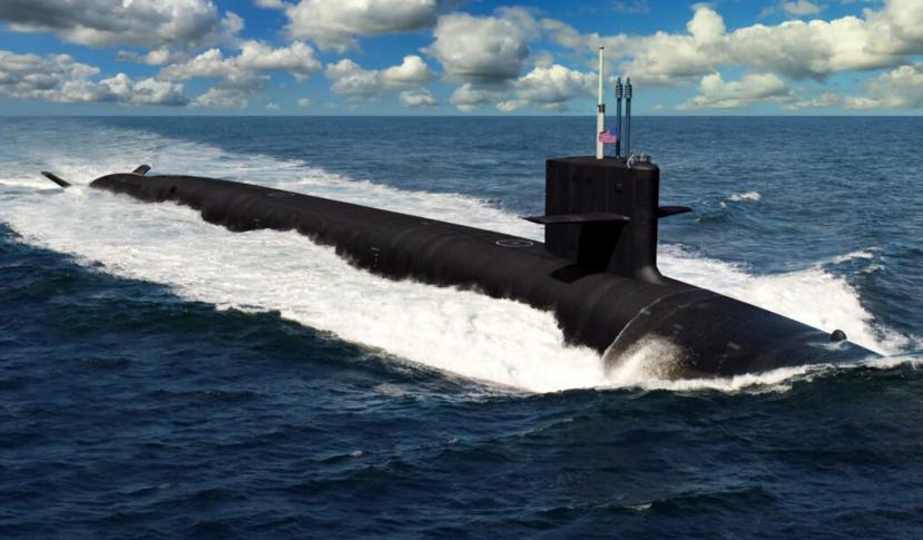 """美最大军用船舶制造商将支持建造""""哥伦比亚""""级核潜艇"""