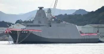 """日本海上自卫队新型护卫舰主打""""省人化""""欲将舰队规模增至54艘"""