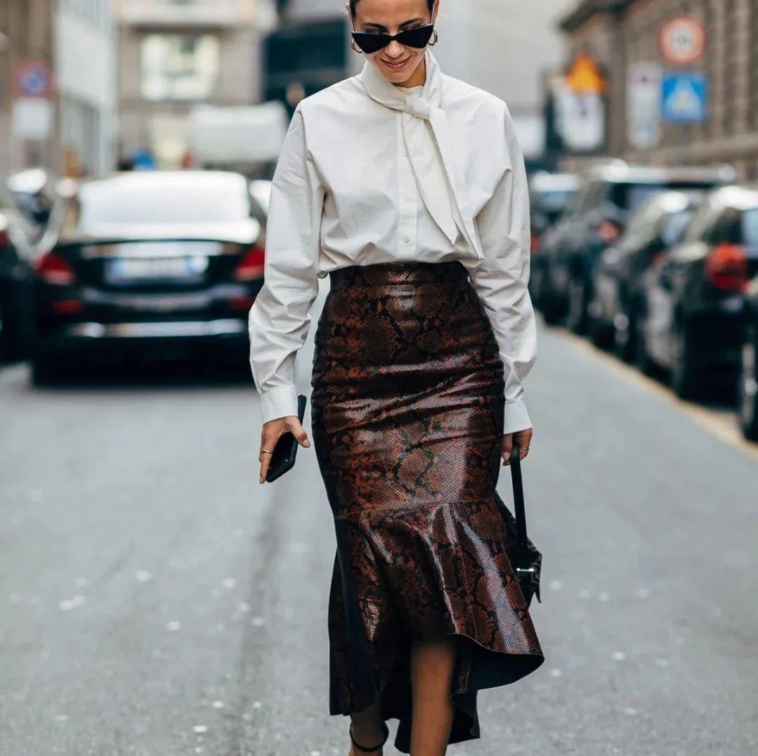 种草鹅| 冬天的内搭,我选迷人的鱼尾裙