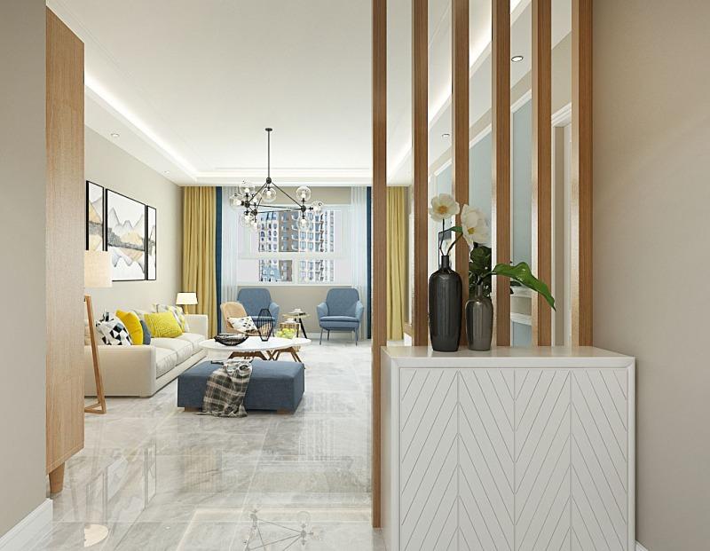 110平米的北欧风装修,这套三居室简直就是让人宁静的心灵港湾。