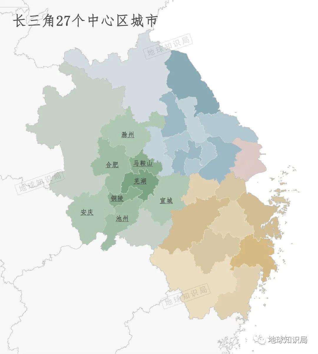 安徽全省被划入长三角:原材料和能源重要来源,实至名归