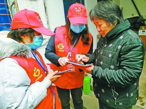 """花山区冲刺""""七人普""""长表登记工作"""