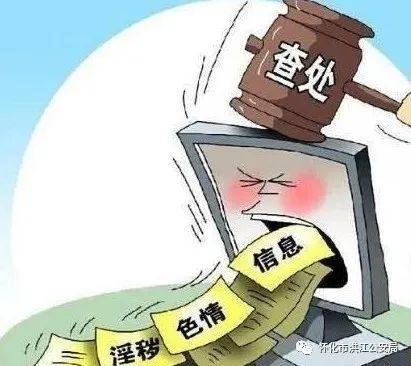 【净网2020】洪江区警方侦破一起网上传播淫秽物品牟利案