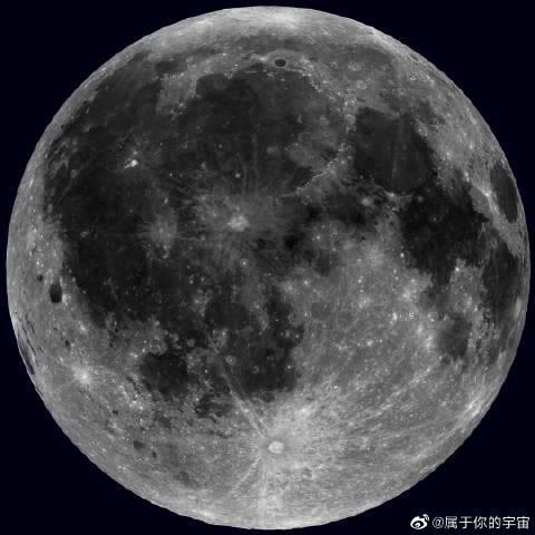 """""""月球勘测轨道飞行器""""所见到的月球自转……"""