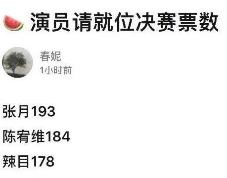 《演员2》17进9,张月成尔冬升组独苗,陈凯歌组兼具实力和流量