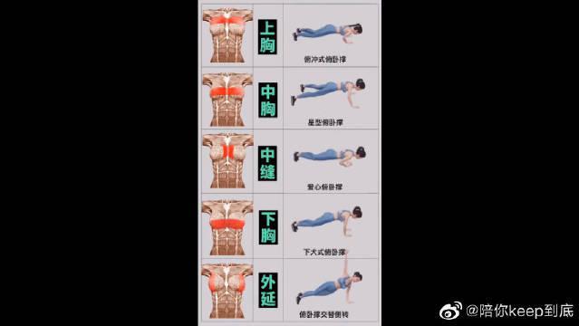 如何用俯卧撑全芳位练胸肌?这5个动作教会你!