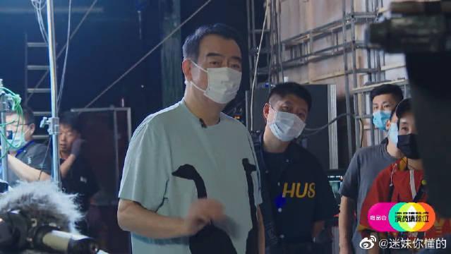 陈凯歌为王锵神模仿赵薇 这是大明星与小明星的区别!