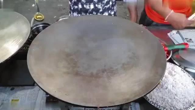 印度街头炒蛋,请大家尊重各国饮食文化