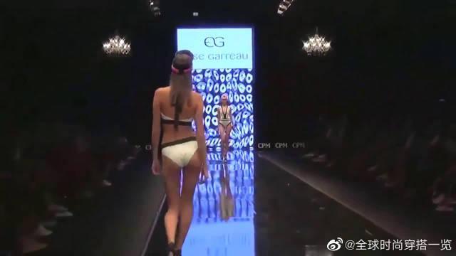时装周,俄罗斯模特内衣秀,典雅的服装尽显风姿卓越!