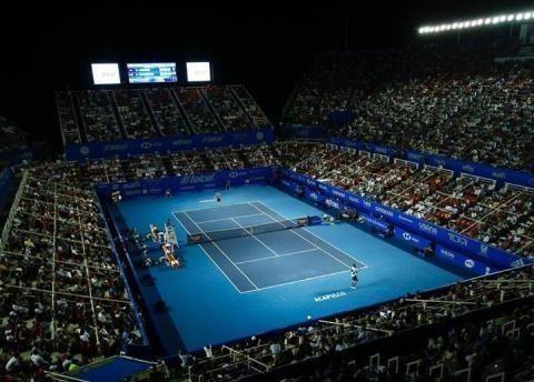 ATP阿卡普尔科站举行了一个玩家聚会纳达尔手克耶高斯领导俊男
