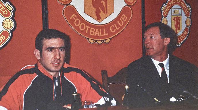 坎通纳签约曼联28周年,天空体育视频回顾