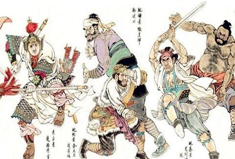 水浒传中的陕西人不多,但确实写出了陕西人独特的性格特点