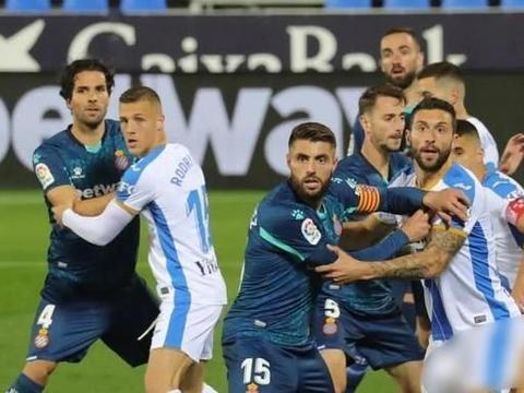 米格隆染红 武磊替补登场 西班牙人0-2莱加内斯两连败