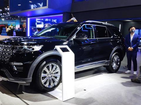 2020年广州车展:福特探险者实车