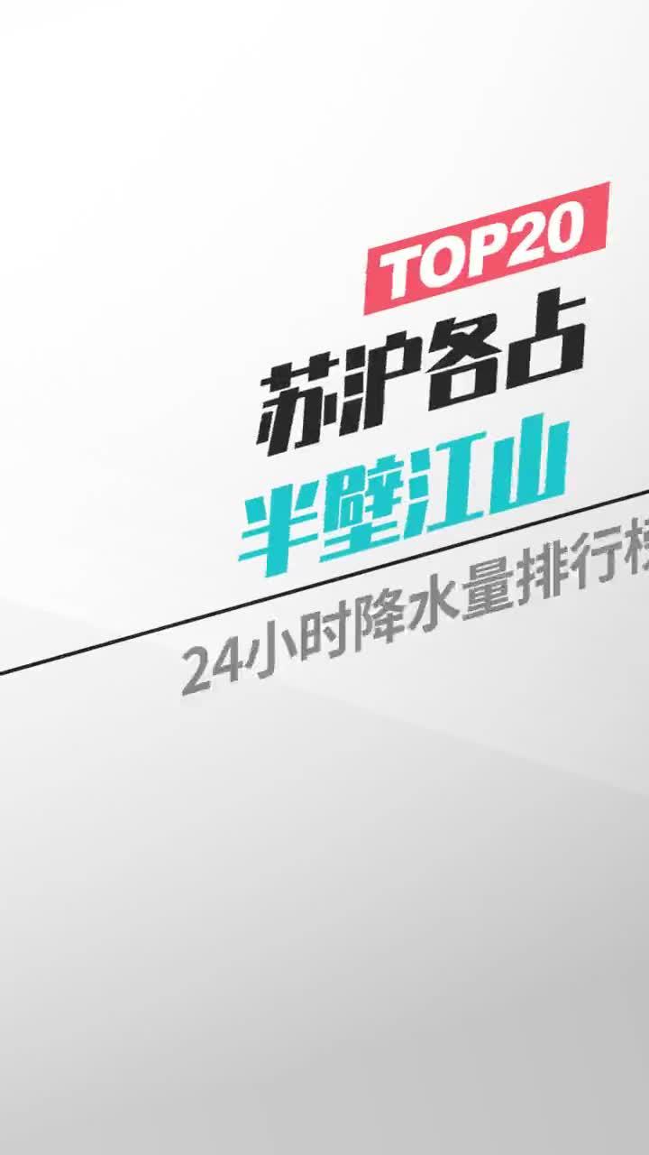 城市风云榜:苏沪各占半壁江山
