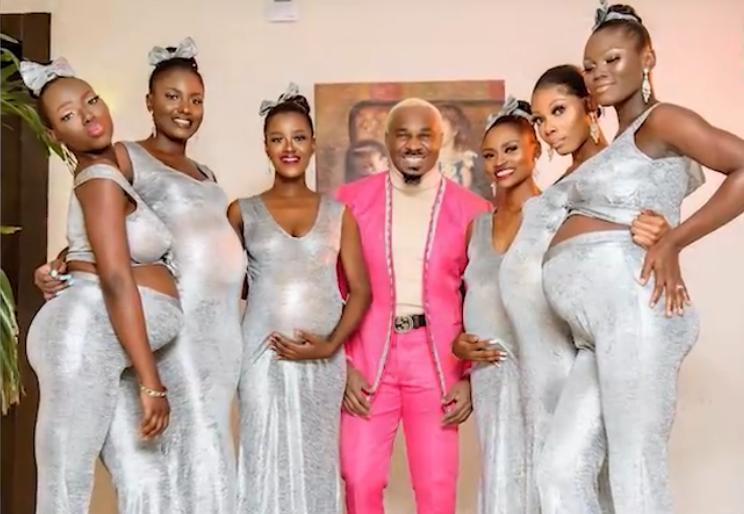 尼日利亚男子带6名女友参加婚礼,网友:大哥,收我为徒吧!