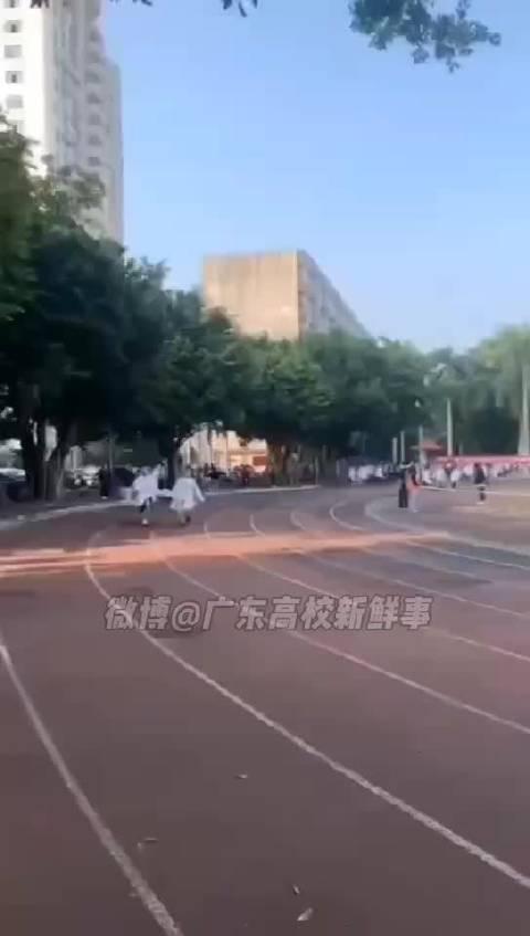 广东医科大学湛江校区运动会,医学生可真不容易