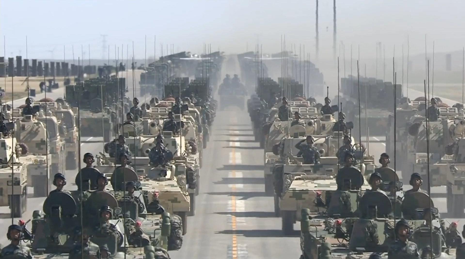中央军委印发联合作战纲要 为我军实战化训练指明方向
