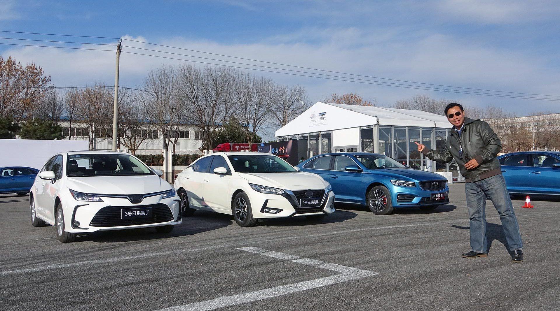 视频:挑战合资紧凑型车的主力,星瑞/卡罗拉/轩逸/思域场地项目对比