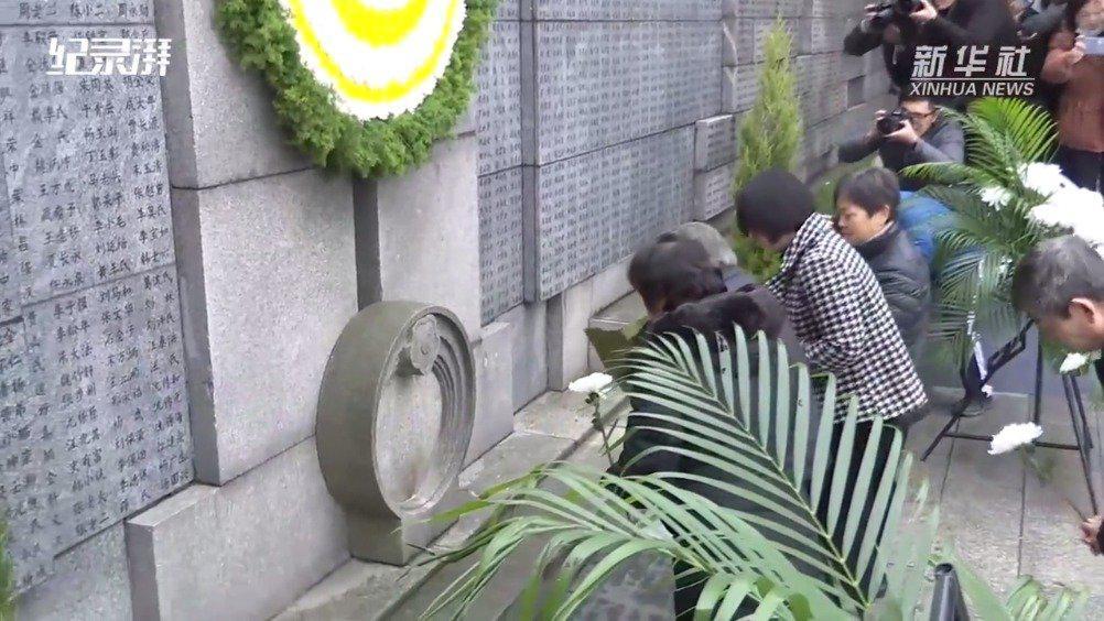 南京举行大屠杀死难者家祭活动:幸存者仅剩73人