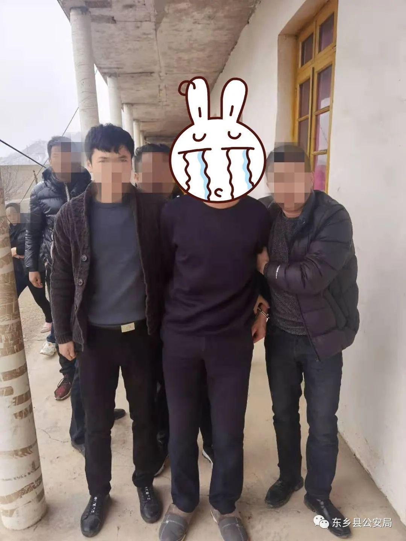 """东乡县公安局抓获一名""""拔钉行动""""目标逃犯"""