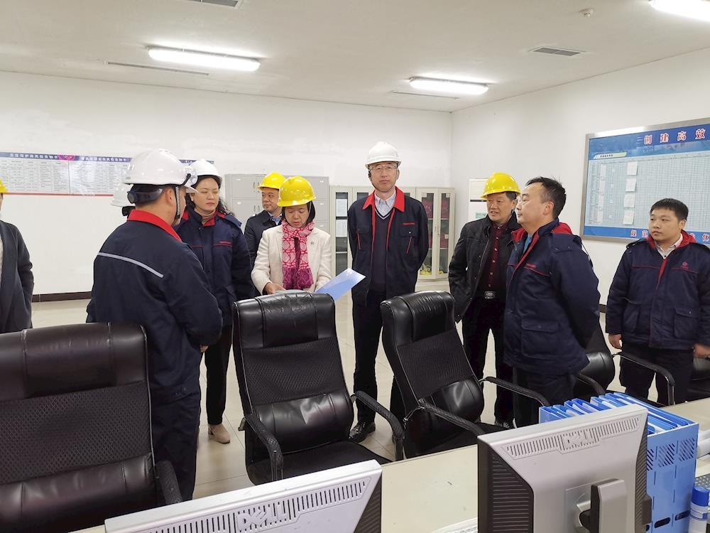 徐利副市长督导工业和民爆企业安全生产