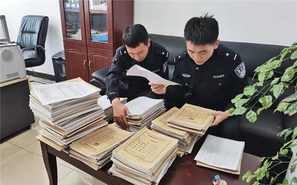汉源县公安局森林警察大队加强转隶后的档案建设和管理