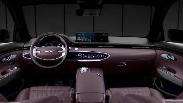 现代捷恩斯将推GV70,将配业内首款指纹车载数字化支付系统