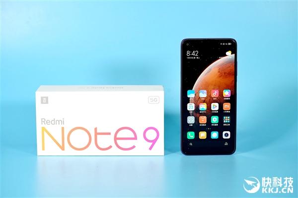 性能比上一代翻倍!Redmi Note 9流影紫开箱图赏