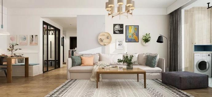 选用的方式,将三居室房屋交给装修公司,只花了14万元!