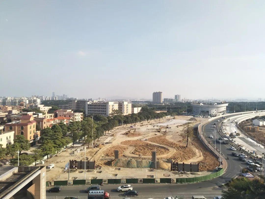 道滘济川广场景观提升工程明年1月底完工