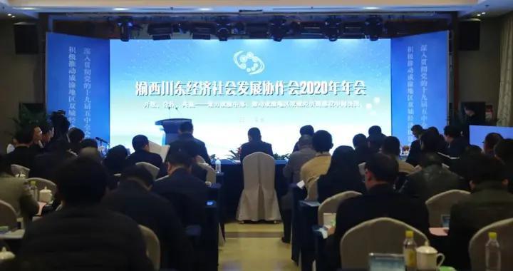 渝西川东经济社会发展协作会2020年年会在安岳县召开