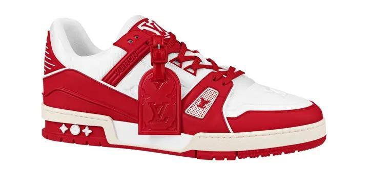 对抗爱滋病-路易威登(RED) 运动鞋正式登场