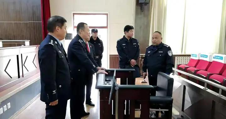 渭南市中院对富平法院司法警察大队2020年度工作检查考核