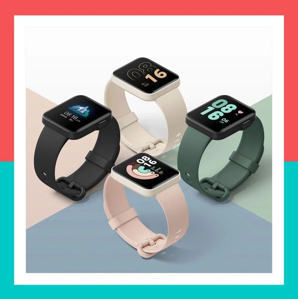 【穿戴】269起 Redmi首款智能手表发布 对比荣耀手环6你选?