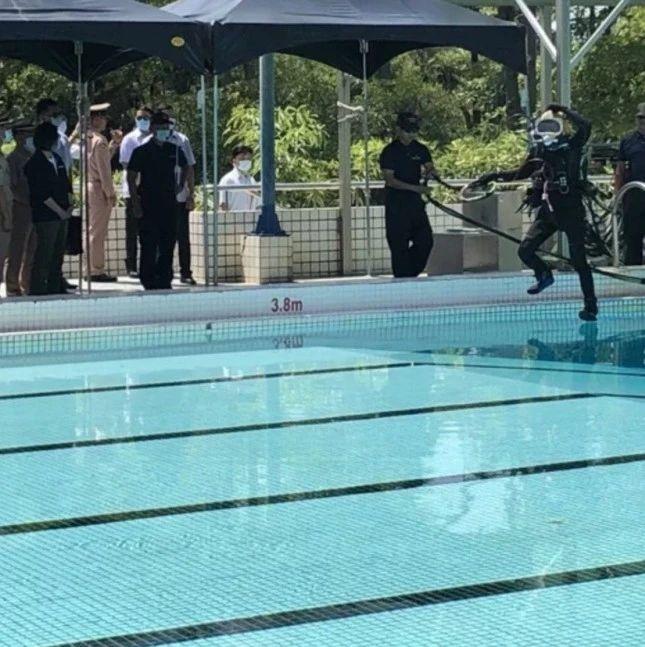 台媒:台湾海军游泳池训练现意外 一军人溺水