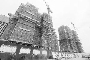 中心城区最大安置房项目年底全部封顶