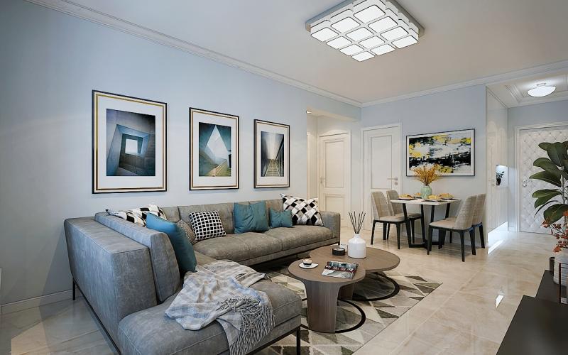 选用的方式,将二居室房屋交给装修公司,只花了2万元!