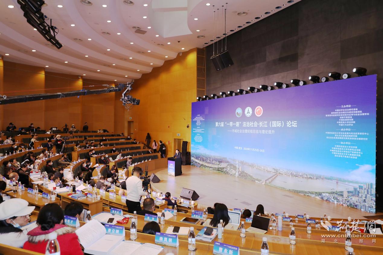 第六届法治社会长江论坛举行 百余专家学者聚焦市域社会治理