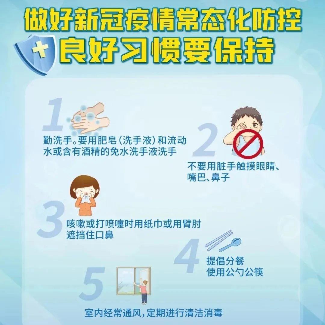 新冠肺炎疫情常态化防控怎么做?七张海报告诉你!