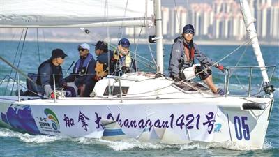 """""""希望明年还能来北海参加比赛"""" ——访""""一带一路""""国际帆船赛(中国北海站)外籍选手"""