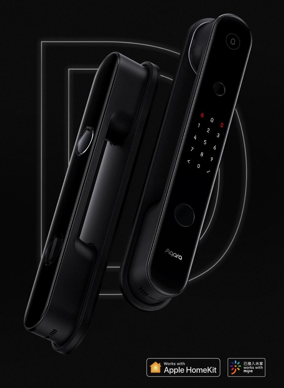 绿米 Aqara 全自动智能门锁发布:苹果小米双安全芯片,支持两家物联网控制
