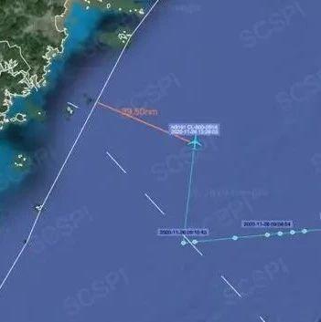 美侦察机再次逼近 距离浙江海岸最近仅73公里