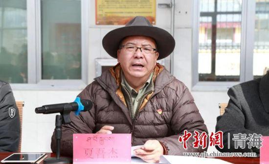 果洛州委常委、班玛县委书记在吉卡乡宣讲党的十九届五中全会精神