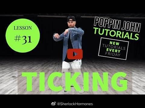 Poppin John Popping基础教学系列Ticking