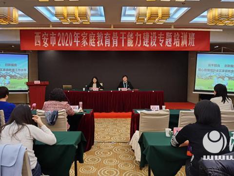 西安市妇联举办2020年家庭教育骨干能力建设专题培训班