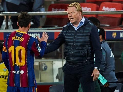 科曼降薪1000万,球队为巴萨节省1.1亿工资,梅西拒不降薪