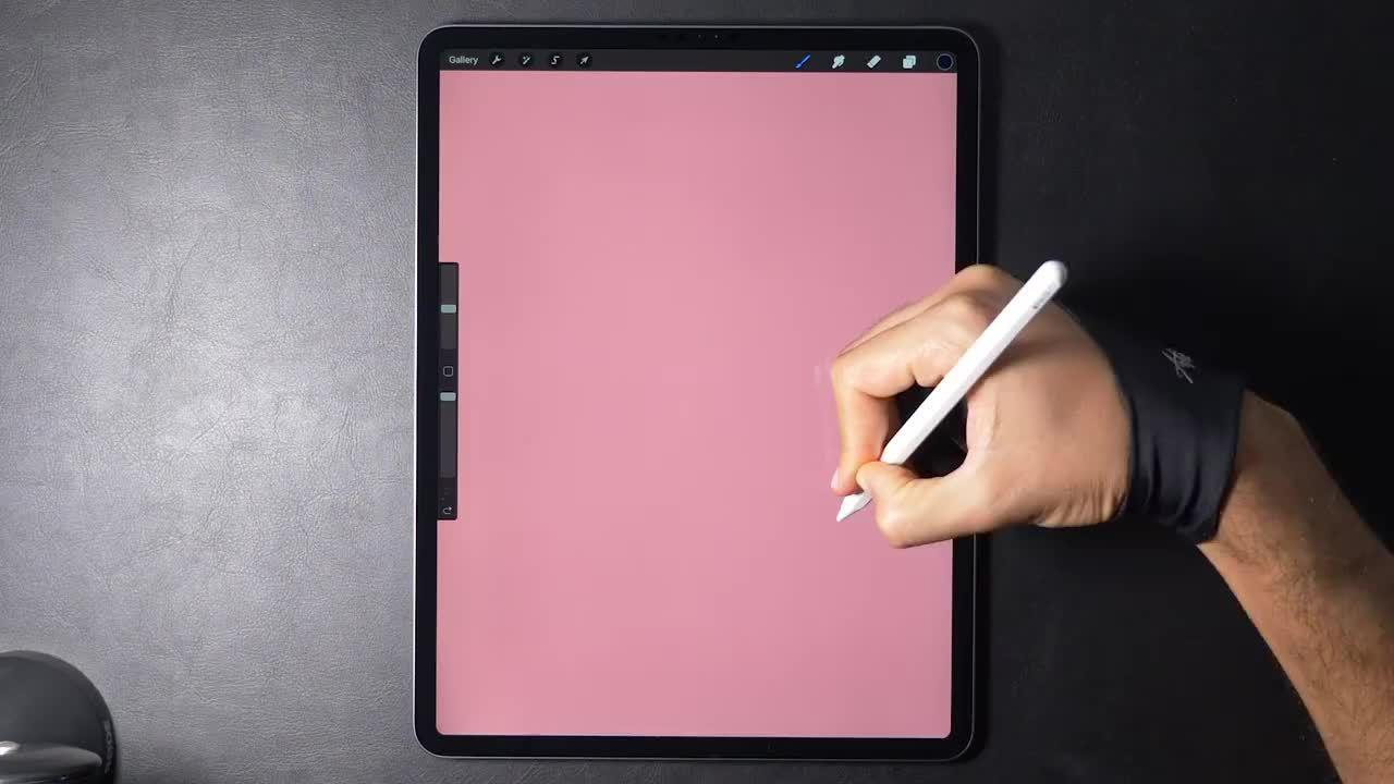 『灯光』iPad Pro 绘画过程~ \ 插画师 Gal Shir \……