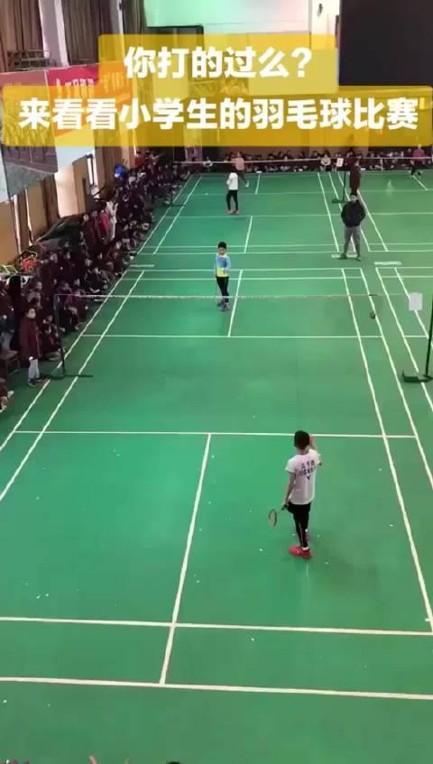 小学组别羽毛球赛